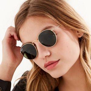 RayBan Round Metal Classic Sunglasses NEW